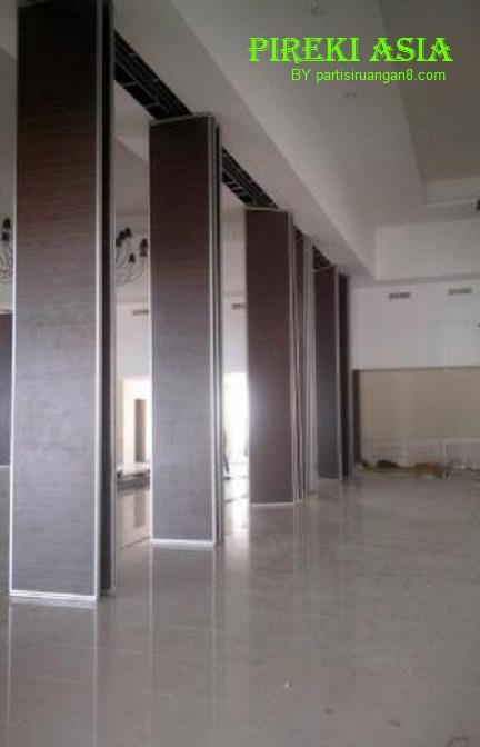 partisi geser hotel | pintu lipat hotel | penyekat ruangan ballroom